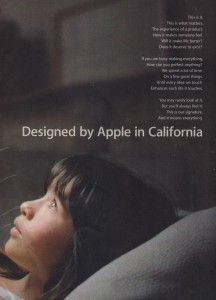 Apple Designed in California Ad